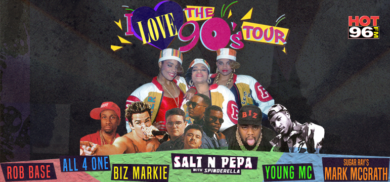 I Love the 90's Tour 2018