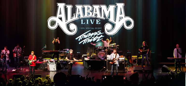 Alabama Live with Very Special Guest Travis Tritt Sept 15