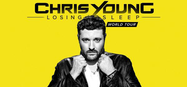 Chris Young Losing Sleep Tour - October 25